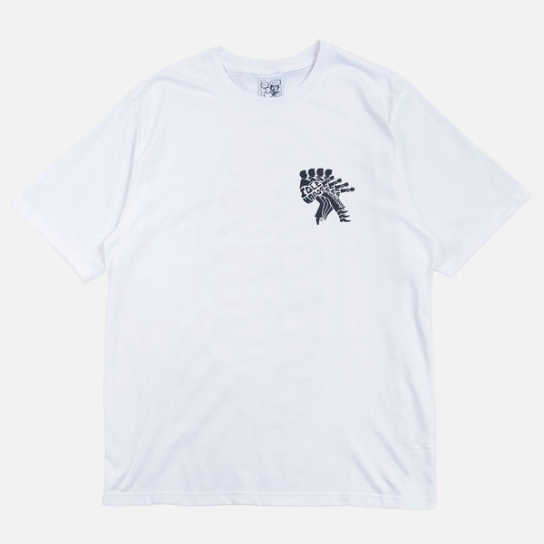 Greatest Hits - Blues for Idle Hands tee in white