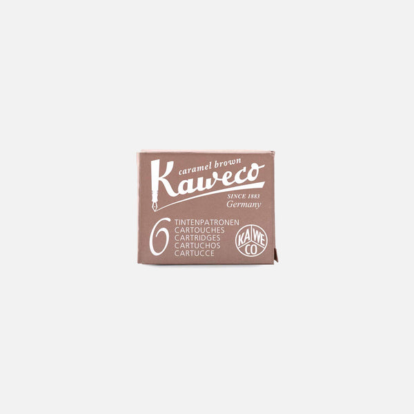 Kaweco Ink Cartridge in Caramel Brown blues store www.bluesstore.co