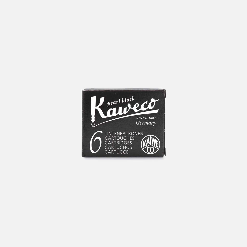 Kaweco Ink Cartridge in Pearl Black blues store www.bluesstore.co