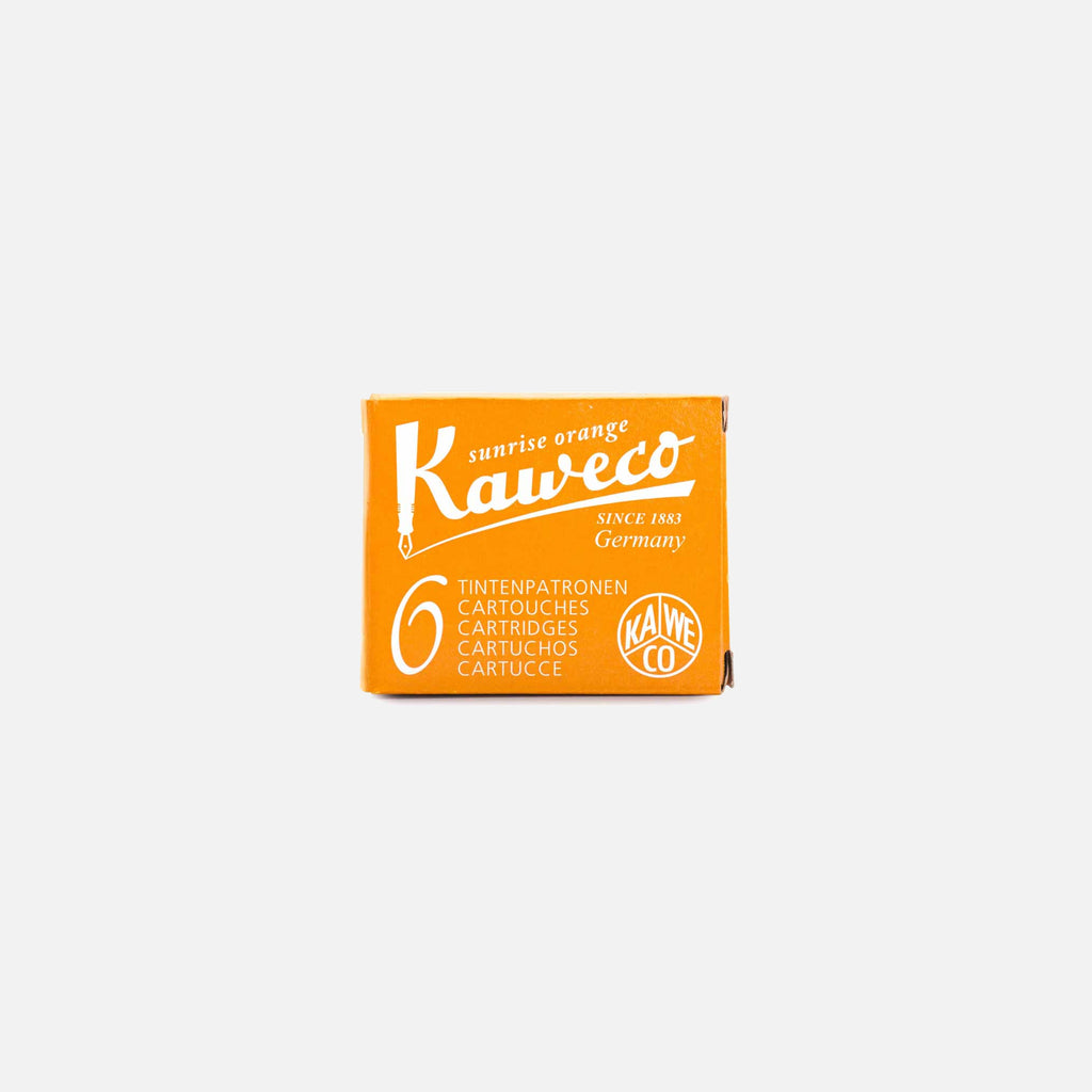 Kaweco Ink Cartridge in Sunrise Orange Blues store www.bluesstore.co