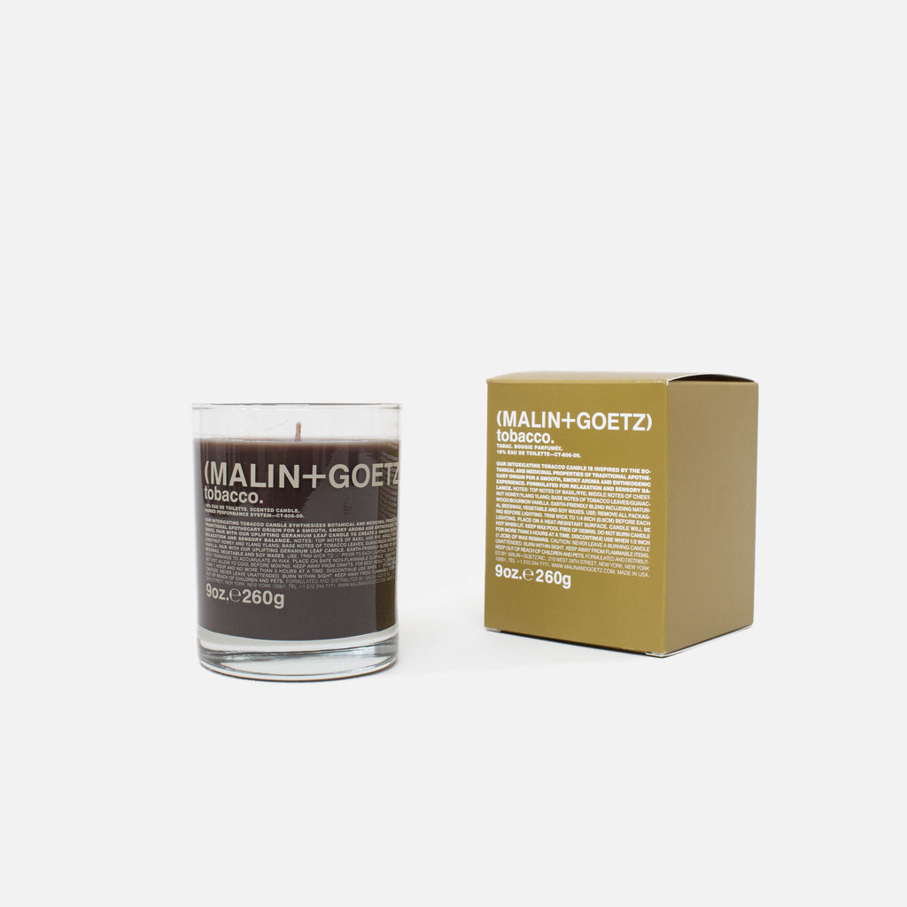 Malin + Goetz 9oz Tobacco Candle