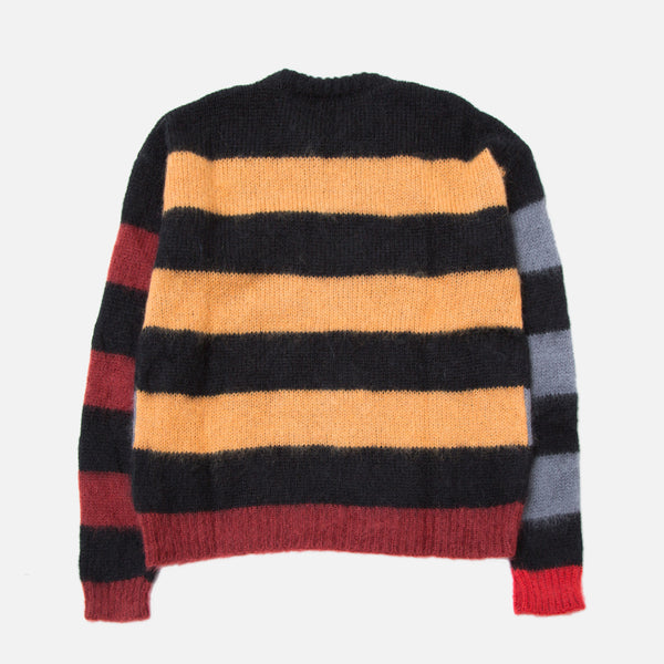 Aries Mohair Stripy Jumper