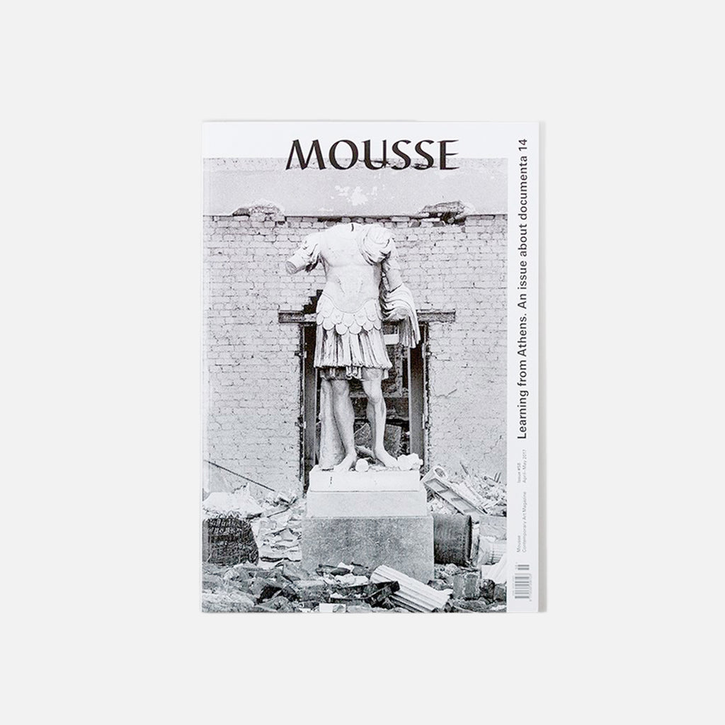 Mousse Magazine No. 58