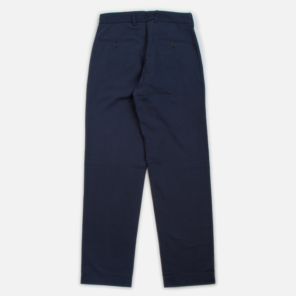 Blues Cotton Twill Pants - Navy