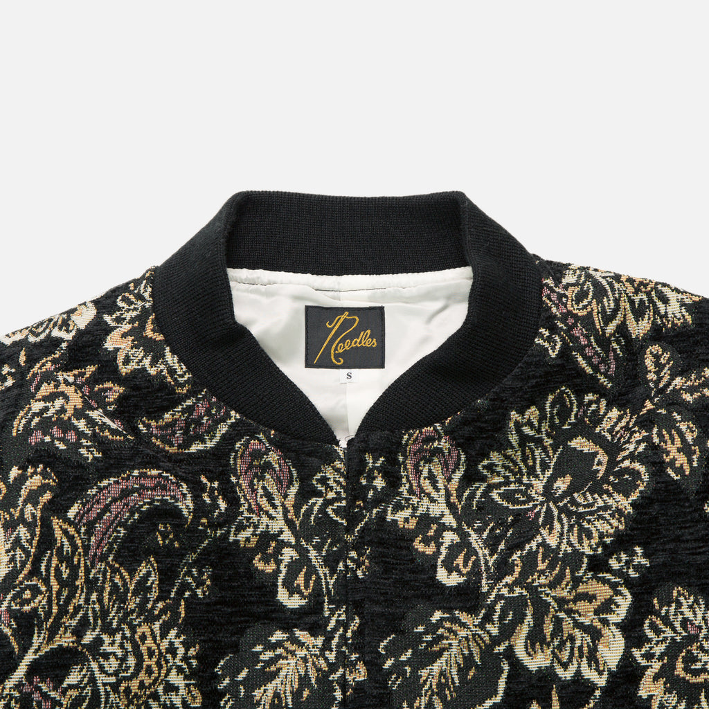 B.B. Gobelin Jacket  with Floral Jacquard design from Needles Autumn / Winter 2020 collection blues store www.bluesstore.co