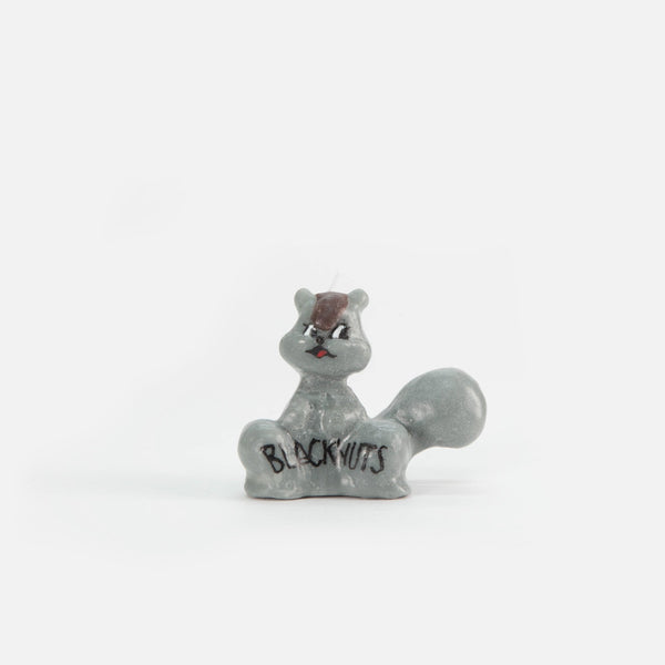 Navy Squirrel Candle from Olga Goose blues store www.bluesstore.co