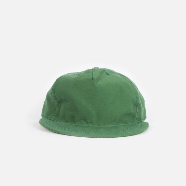Paa 60/40 Pleat Cap - Emerald Grosgrain