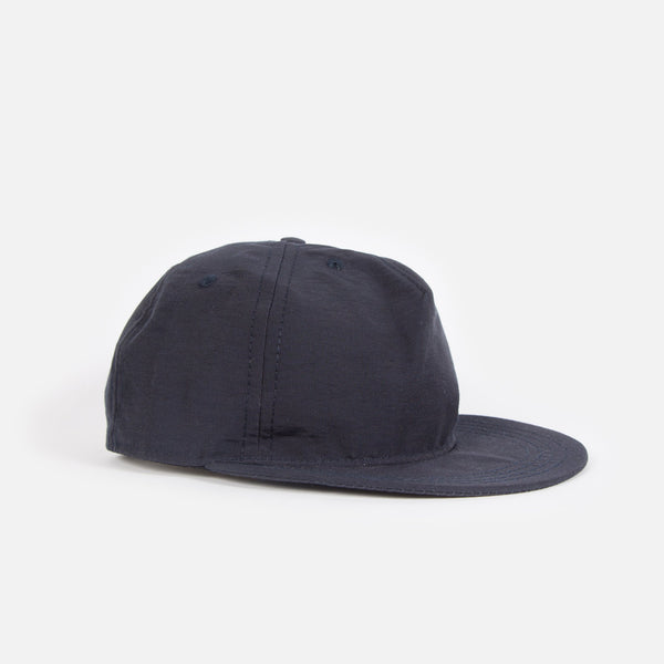 Paa 60/40 Pleat Cap in Navy Grosgrain Blues Store