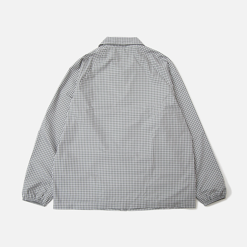 Paa Spectators Jacket Charcoal Gingham Blues Store