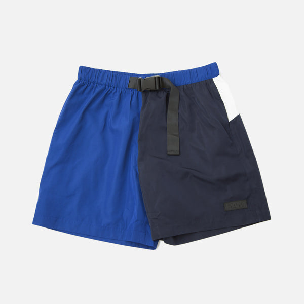 perks and mini Unisex S.Loops Swim Shorts Navy White blues store