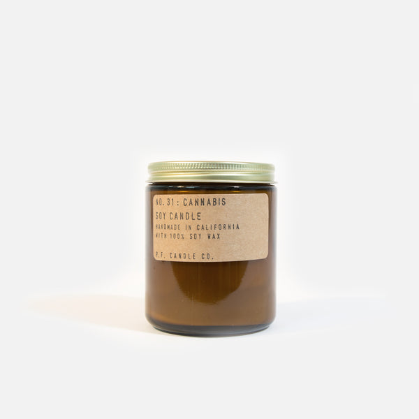 PF Candle Co Cannabis Candle Blues Store