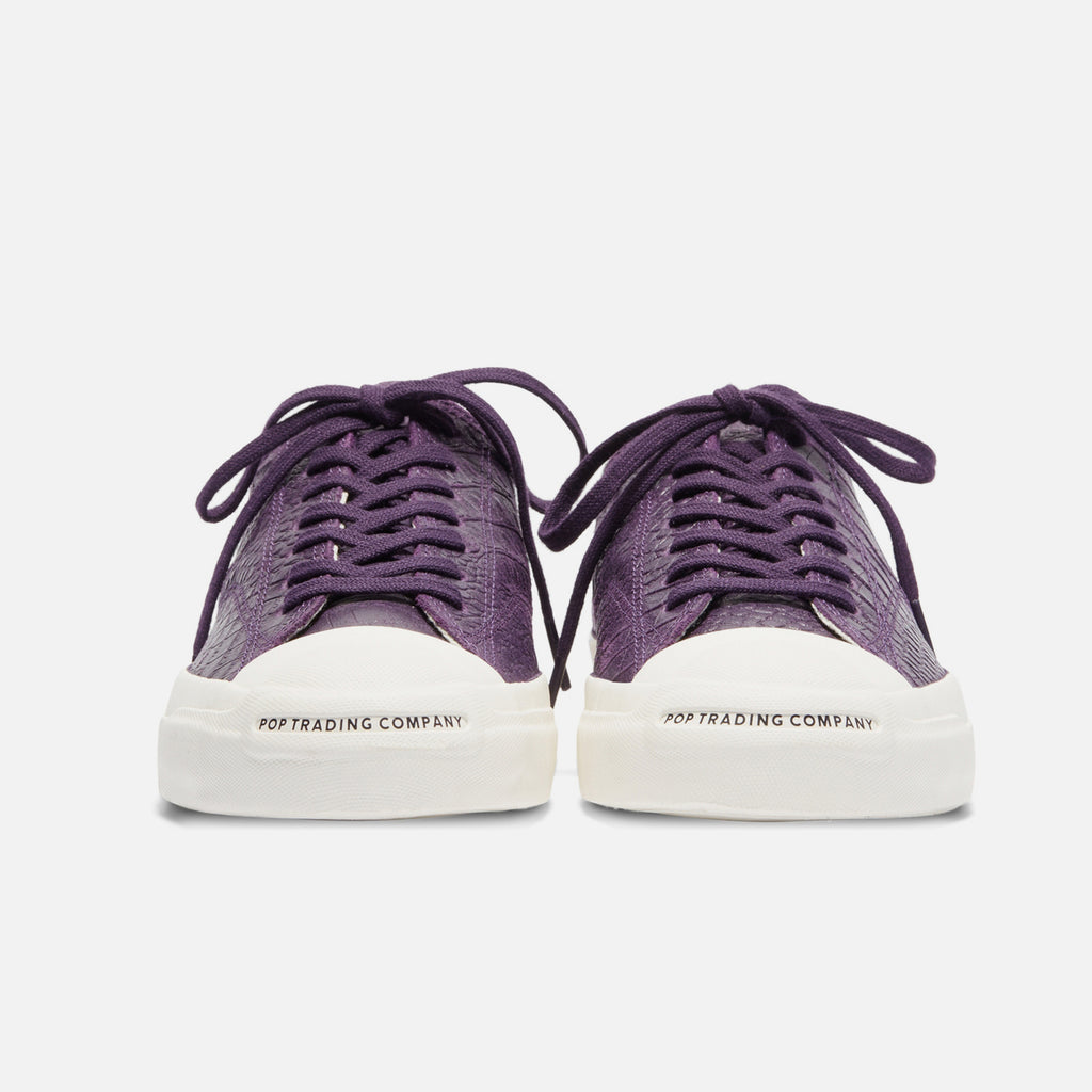 Pop Trading Company / Converse JP Pro - Ox Dark Purple Dragonskin blues store www.bluesstore.co