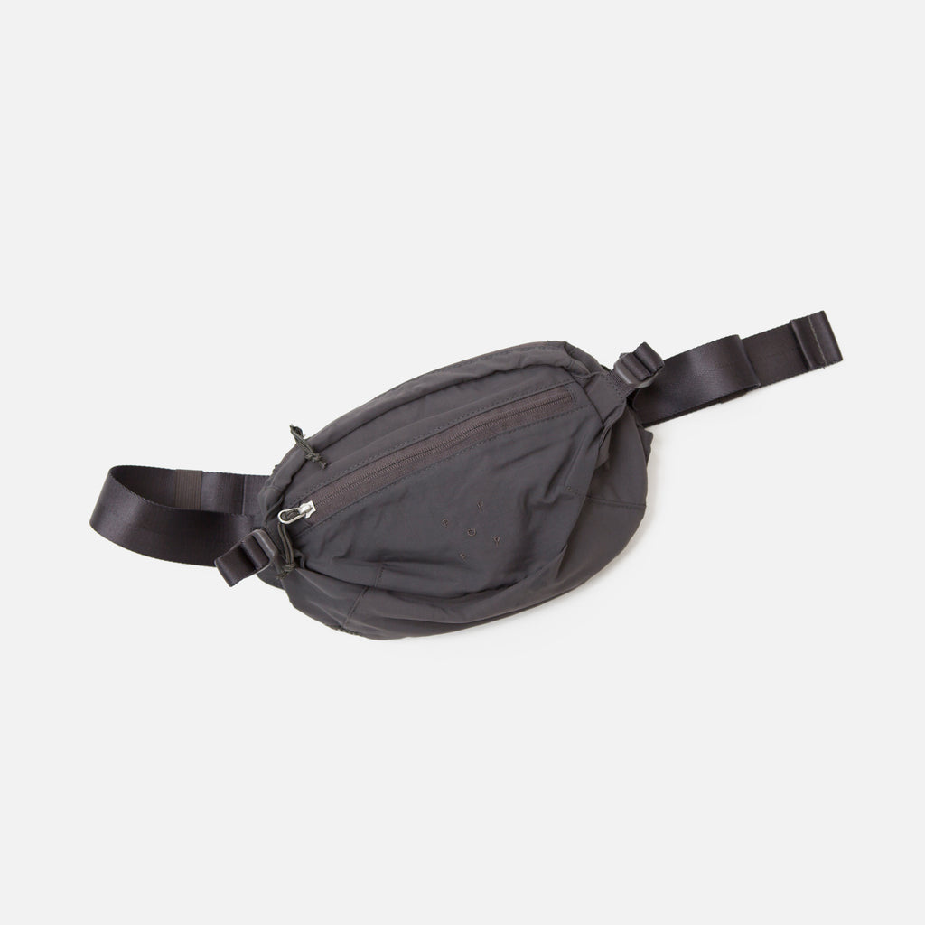 Pop Trading Company Hip Bag in Anthracite Blues Store