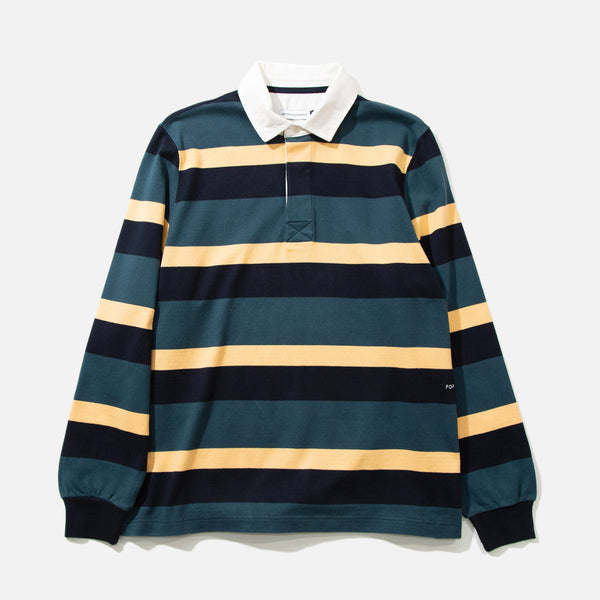 pop trading company striped rugby shirt blues store www.bluesstore.co