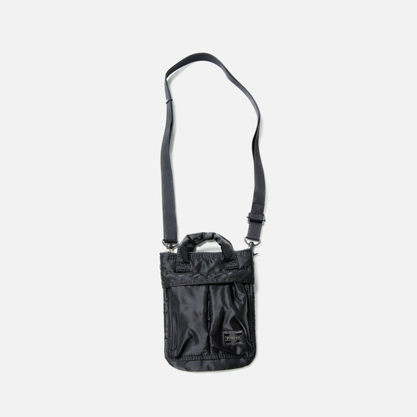 Howl Mini Helmet Bag from Porter Yoshida in Black blues store www.bluesstore.co