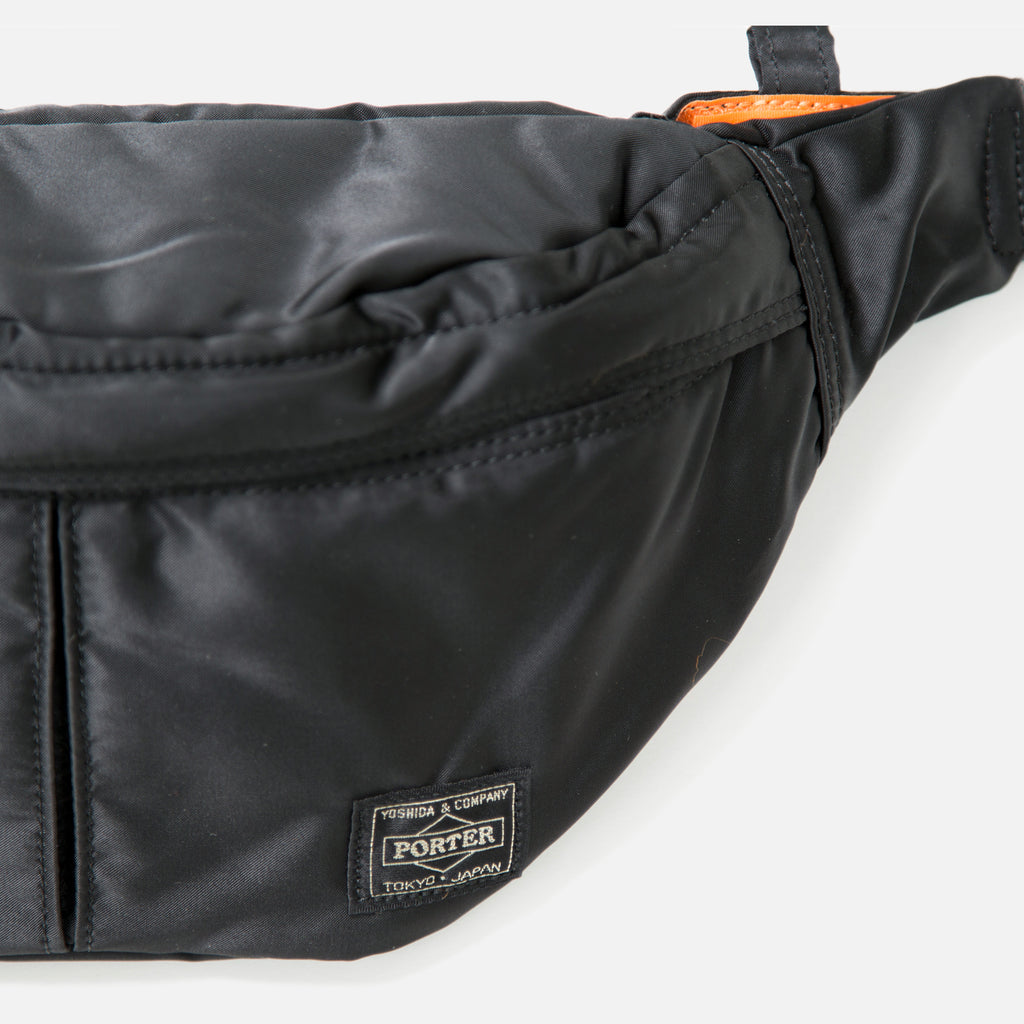 Small Tanker Waist Bag from Porter Yoshida in Black blues store www.bluesstore.co