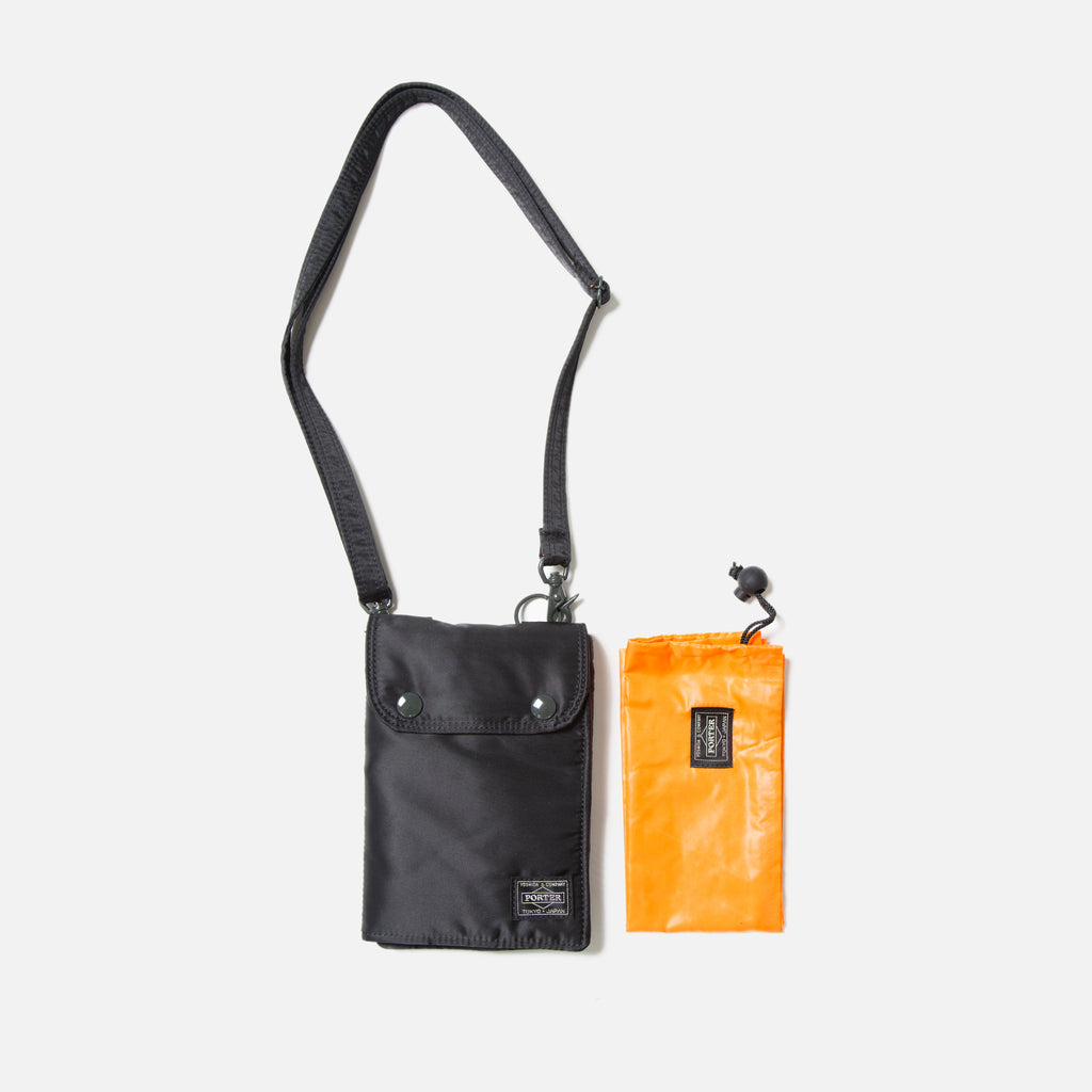 Tanker Travel Pouch from Porter Yoshida in Black blues store www.bluesstore.co