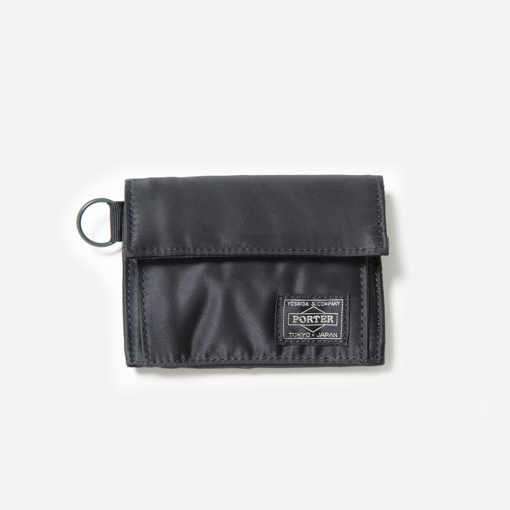 Tanker Wallet A from Porter Yoshida in Black blues store www.bluesstore.co