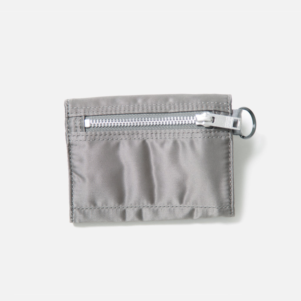 Tanker Wallet A from Porter Yoshida in Silver Gray blues store www.bluesstore.co