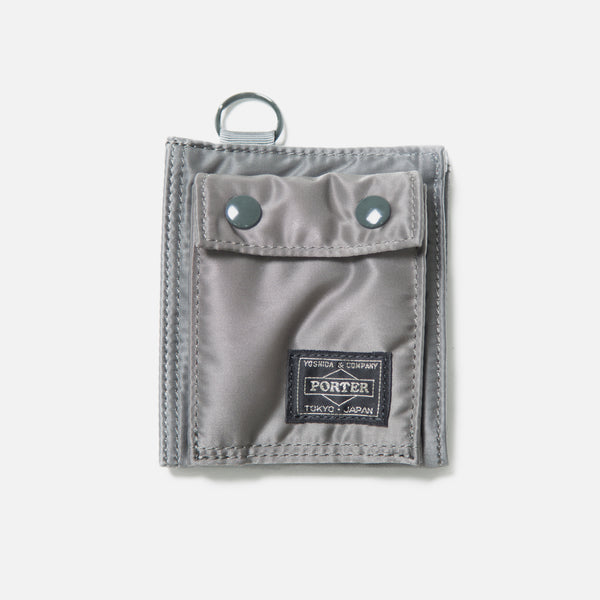 Tanker Wallet B from Porter Yoshida in Silver Gray blues store www.bluesstore.co