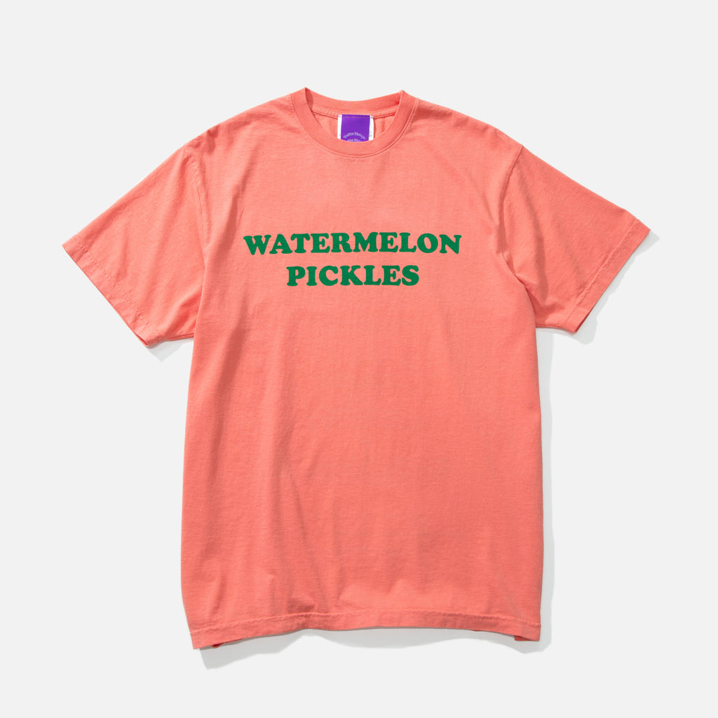 Poz Mez Watermelon t-shirt in watermelon from the P.A.M (Perks and Mini) Positive Messages blues store www.bluesstore.co