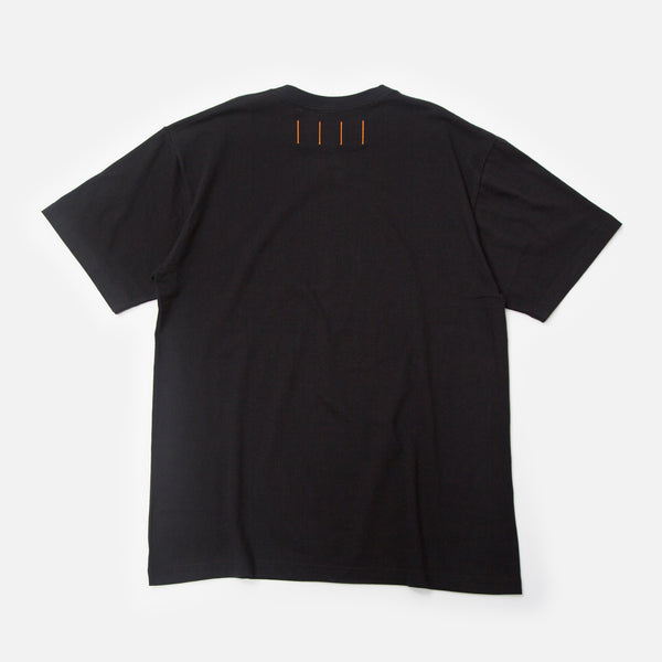 M House t-shirt in black from Prison Blues Store