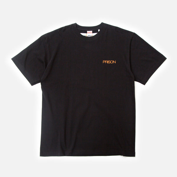 Precise Work t-shirt in black from Prison Blues Store