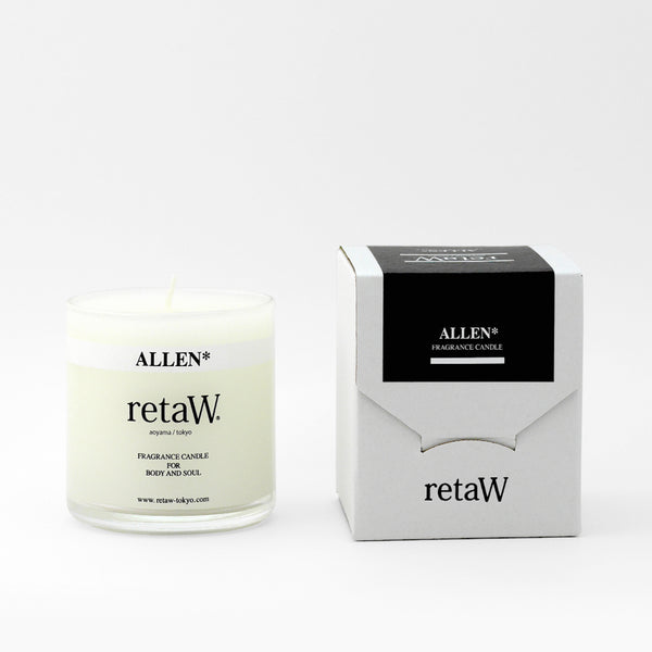 retaW Fragrance Candle - Allen* 145g Blues Store