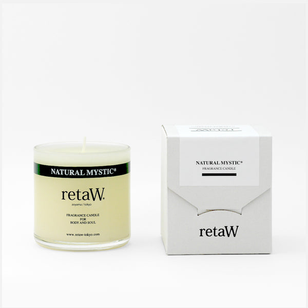 retaW Fragrance Candle - Natural Mystic* 145g Blues Store