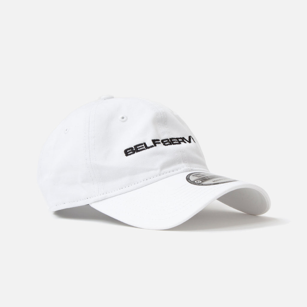 Self Service + IDEA Cap in White Blues Store