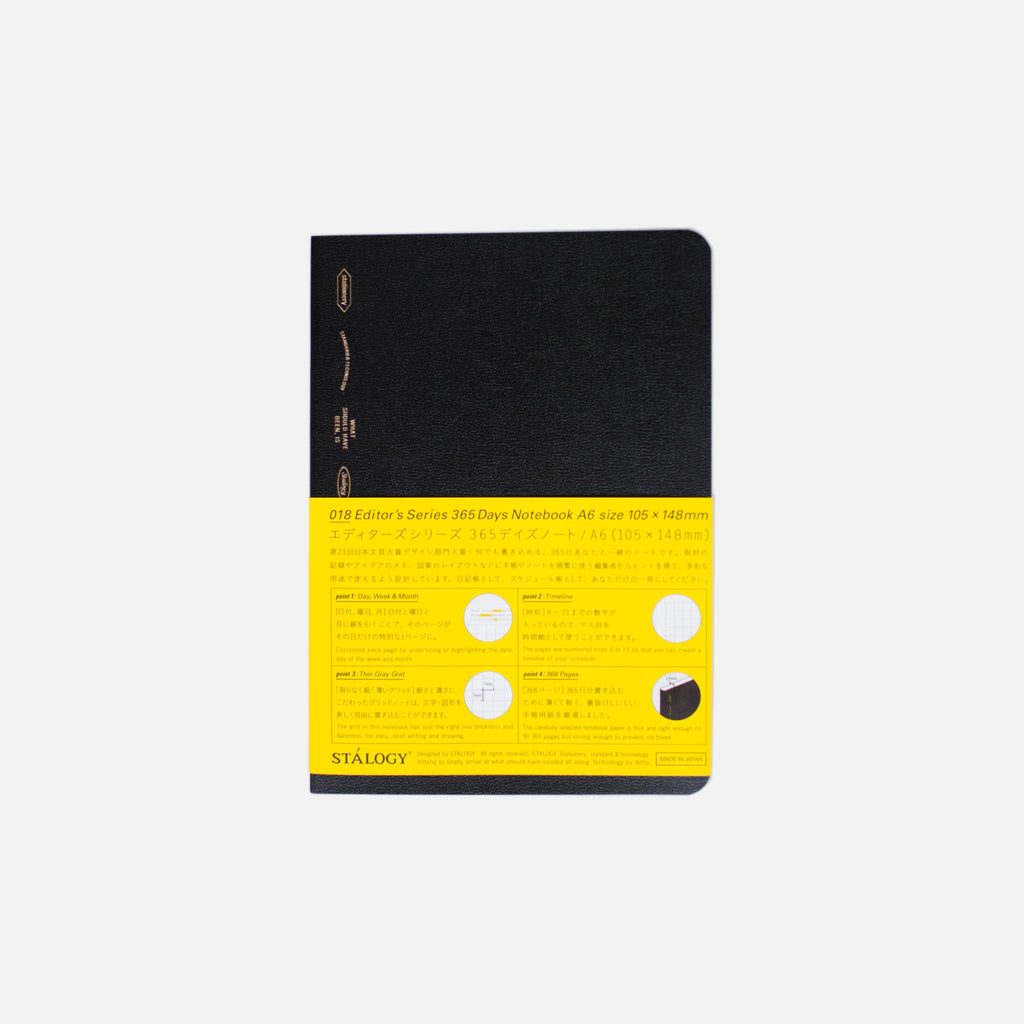 A6 365 Days Notebook