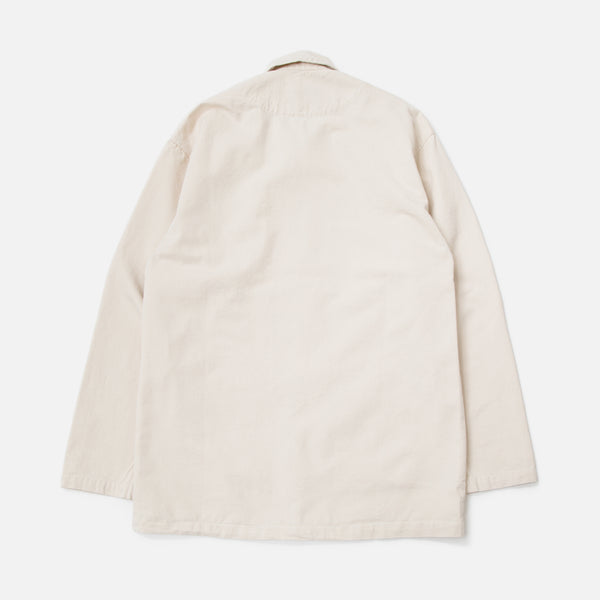 Classic Shop Jacket in Natural from the Spring / Summer 2020 Stan Ray collection blues store www.bluesstore.co