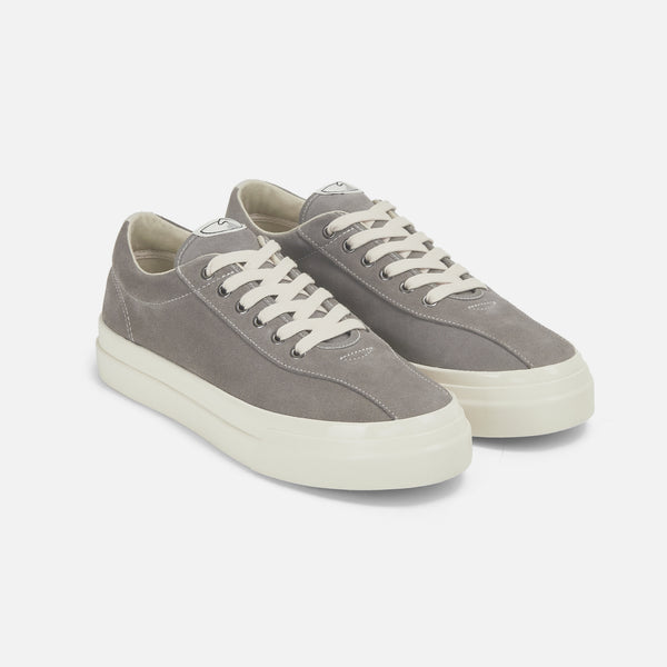 Suede Dellow in grey from Stepney Workers Club blues store www.bluesstore.co