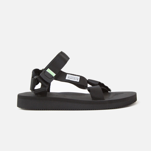 Suicoke Depa Cab Sandals - Black Blues Store