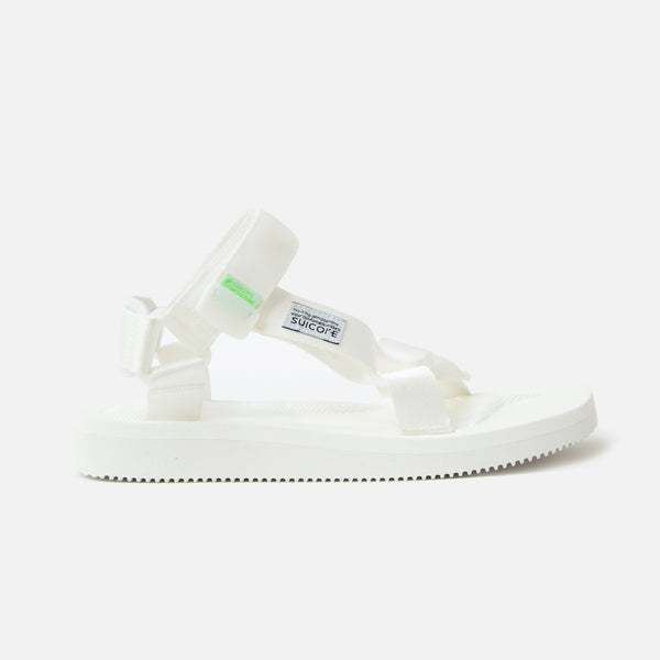 Suicoke Depa Cab Sandals in White Blues Store