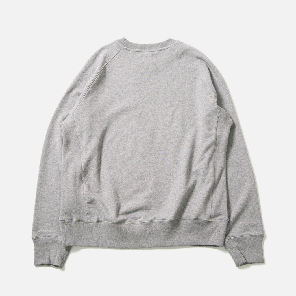 Mouse Sweatshirt in heather grey from The Trilogy Tapes blues store www.bluesstore.co