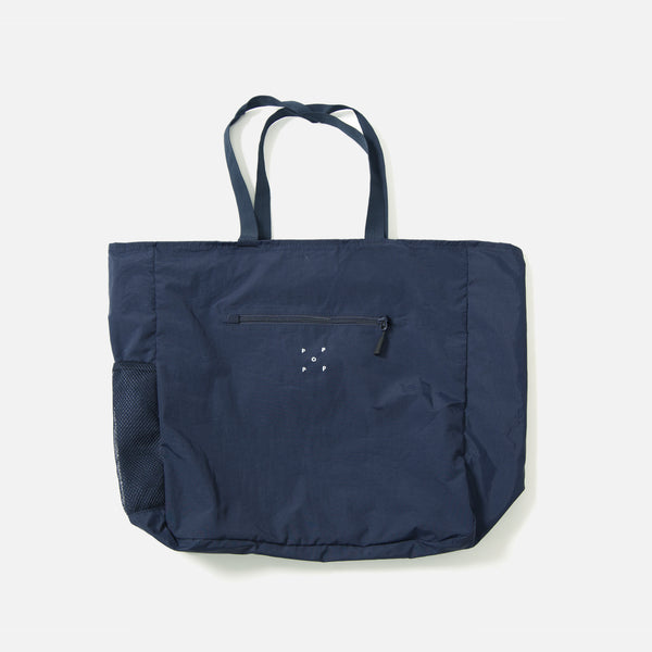 Tote Bag in Navy from the Pop Trading Company blues store www.bluesstore.co