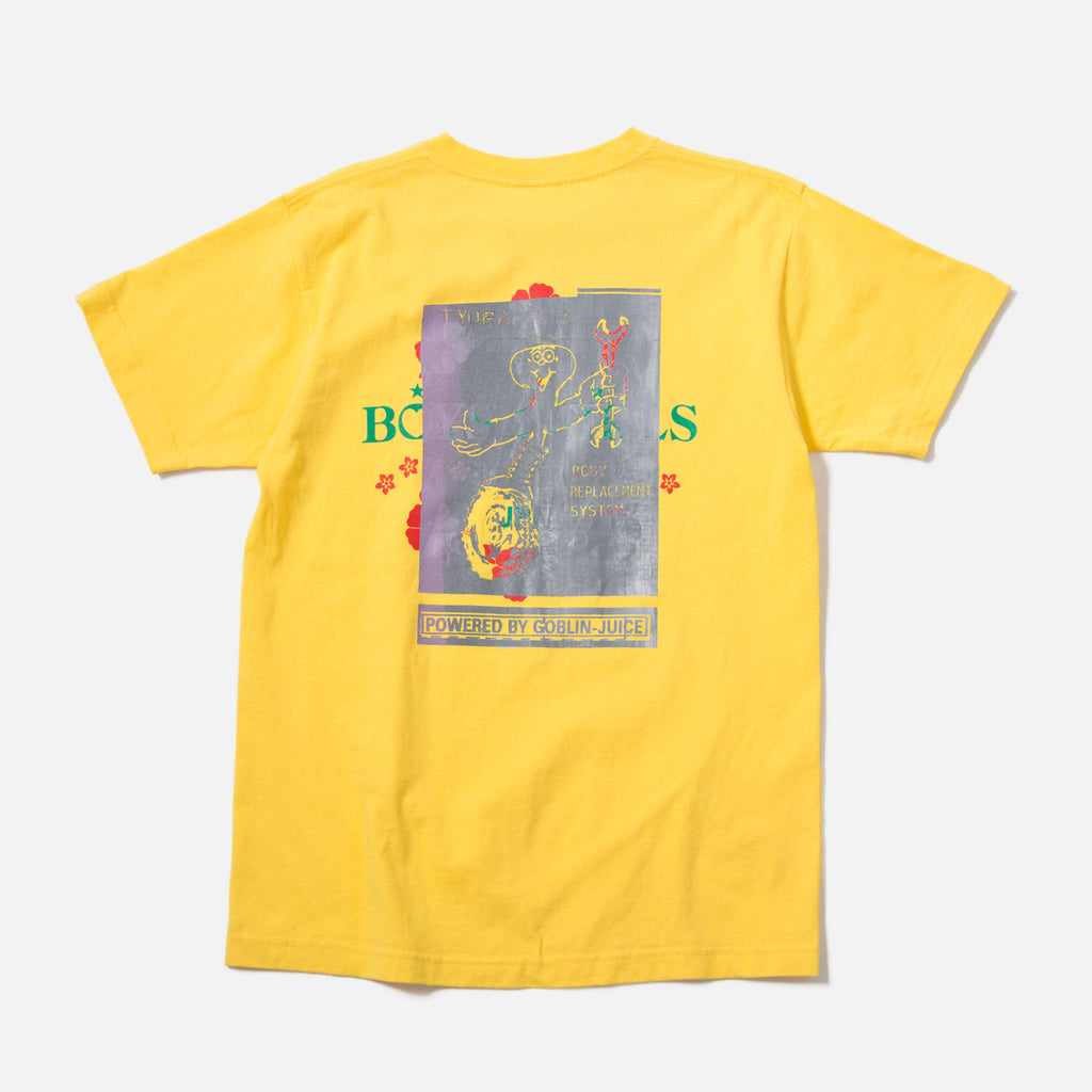 Tydrax 618 Body Replacement T-shirt in Yellow Holiday blues store www.bluestore.co