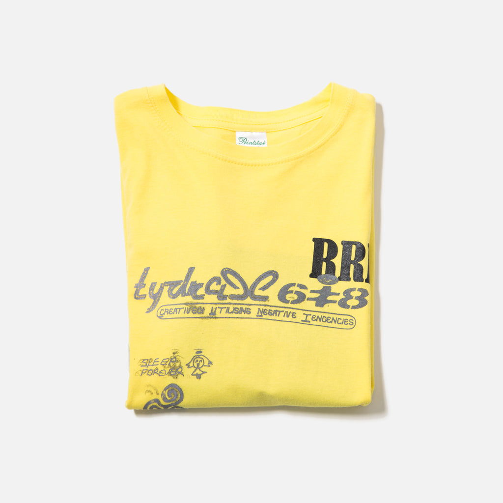 Tydrax 618 Body Replacement T-shirt Yellow blues store www.bluesstore.co