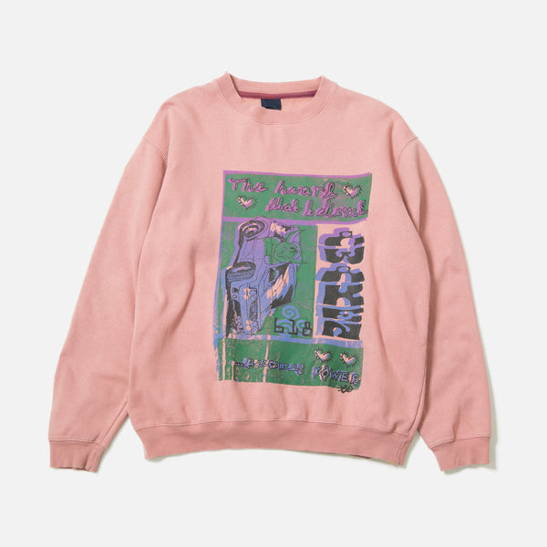Tydrax Test Item Sweatshirt in Pink Dust blues store www.bluesstore.co