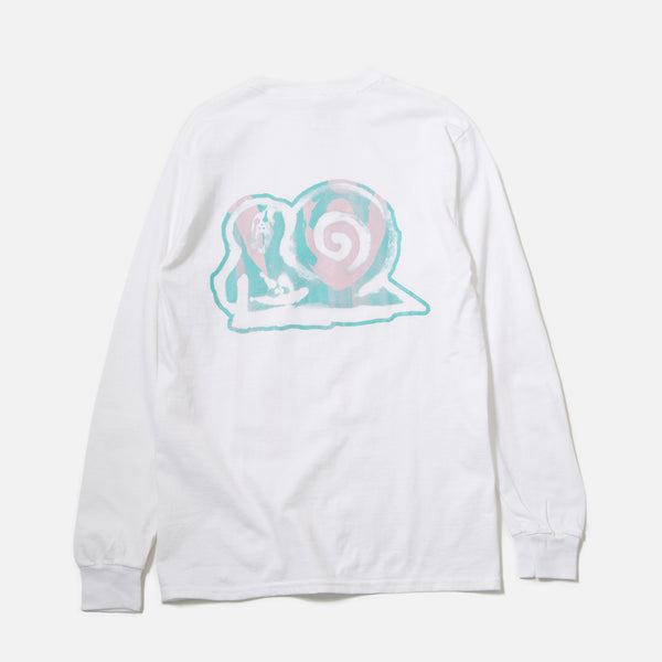 Xiaolong Special Longsleeve T-shirt in White blues store www.bluesstore.co