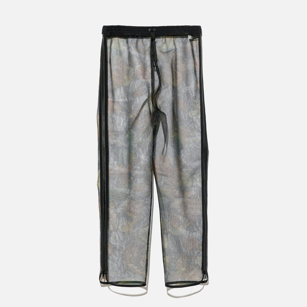 Polyester mesh pants with all over black camo print blues store www.bluesstore.co