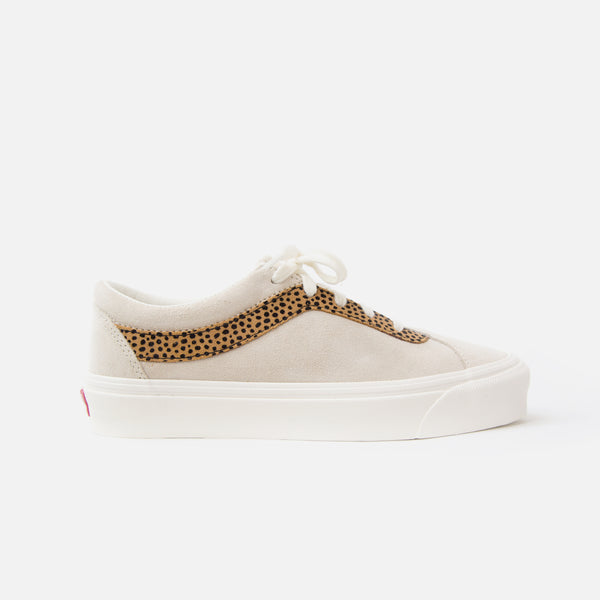 Vans Tiny Cheetah Bold NI in Turtledove / Cheetah Suede Blues Store