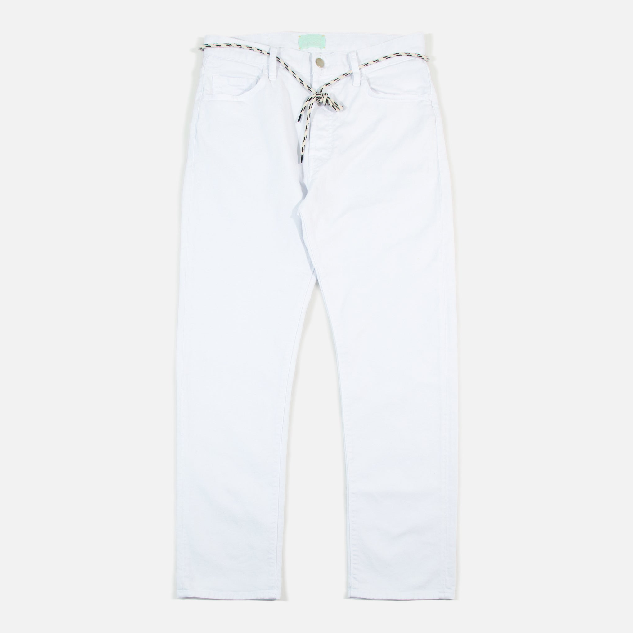 265c8495aa7d48 Aries Clothing Lilly Unisex Selvedge White Jeans | Blues Store