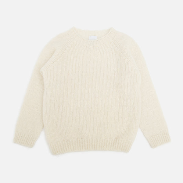 Colourway White Mohair Pullover