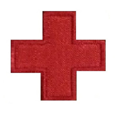 Motif Patch Cosplay Medical Red Cross