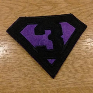 Motif Patch Font 20 Cosplay DIY Superhero Style Letter / Number