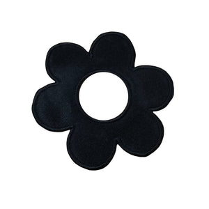 Motif Patch Hollow Daisy Flower