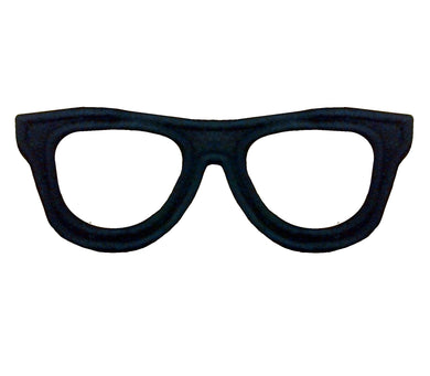 Motif Patch Geeky Nerdy Glasses
