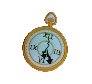 Motif Patch Pocket Watch